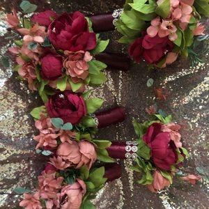 5 Bridesmaid Bouquets